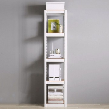 ALMERE SHELF 5 SHELVES WHITE