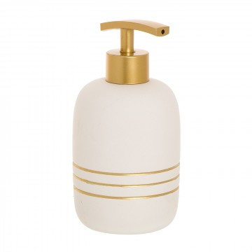 DISPENSADOR MARION GOLD BLANCO