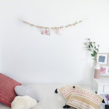 GARLAND DE FEL COM CLIPES 120CM