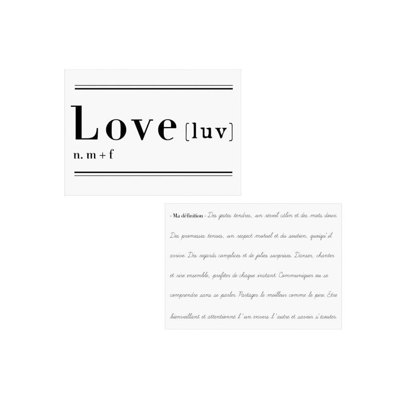 VINILO LOVE 2 DEFINICIÓN 70CM