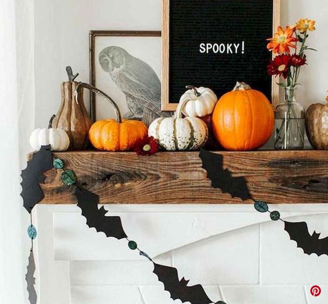 decoración de halloween del hogar