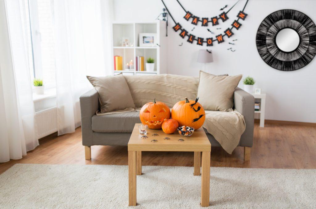 ideas para la decoración de la casa en halloween
