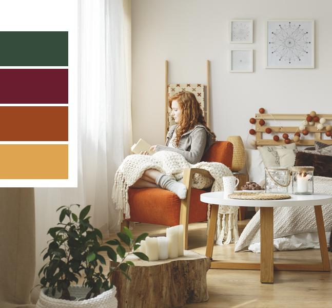 tendencias decorativas del hogar en otoño