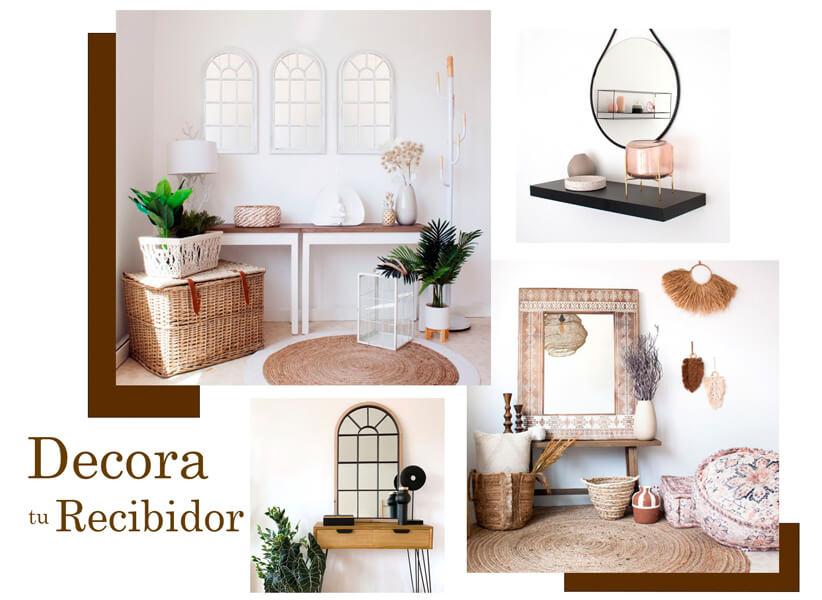 Aprende cómo decorar un recibidor moderno con Casika