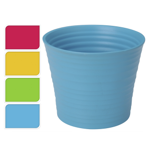 macetero plastco color