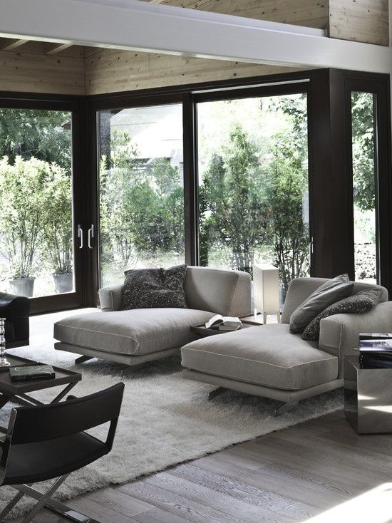 decoración del rincón de relax y descanso