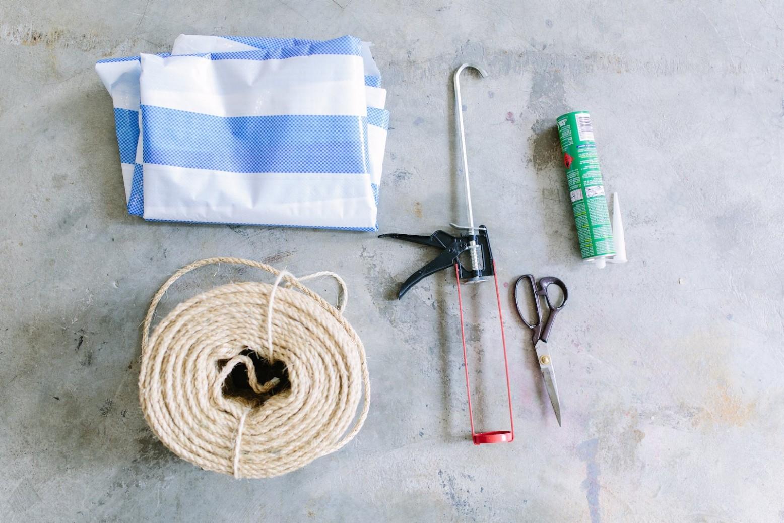 materiales empleados para fabricar nuestra alfombra de fibra natural casera