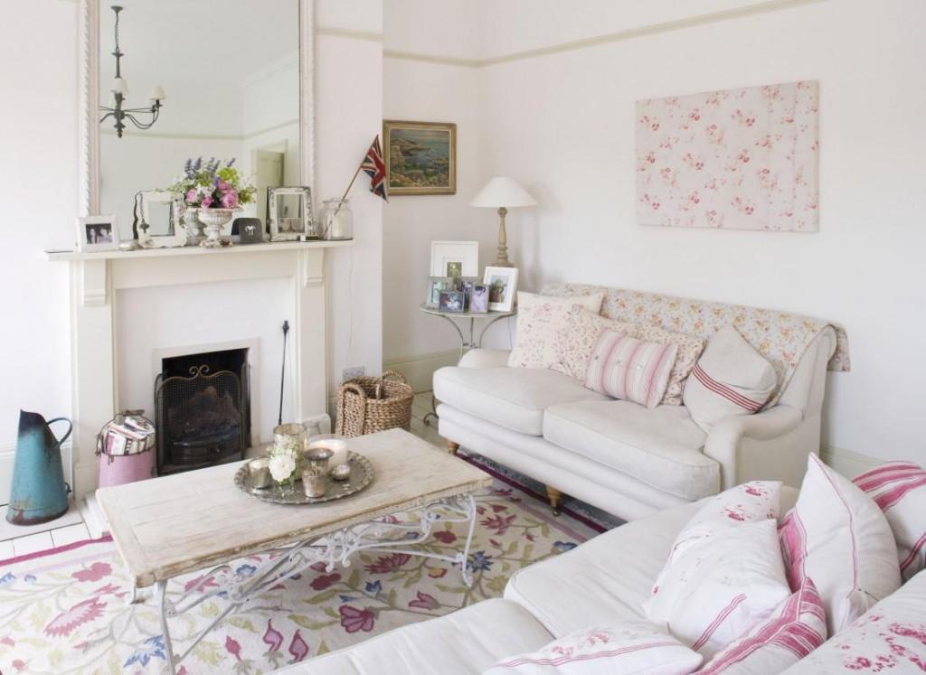 muebles y decoración de estilo Shabby Chic