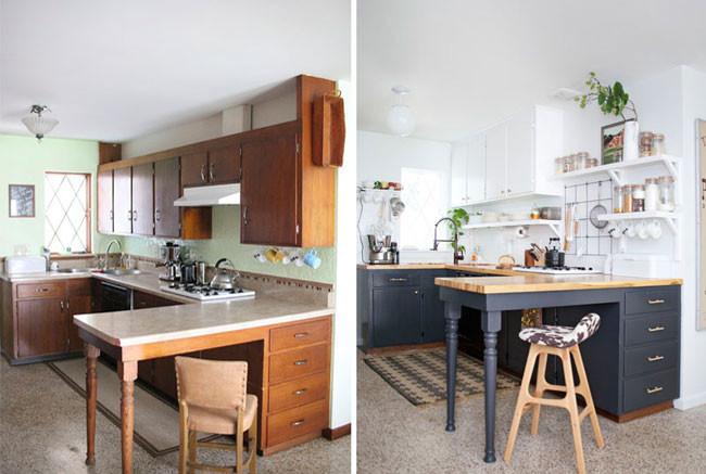 cambio en el estilo de la cocina sin hacer obras