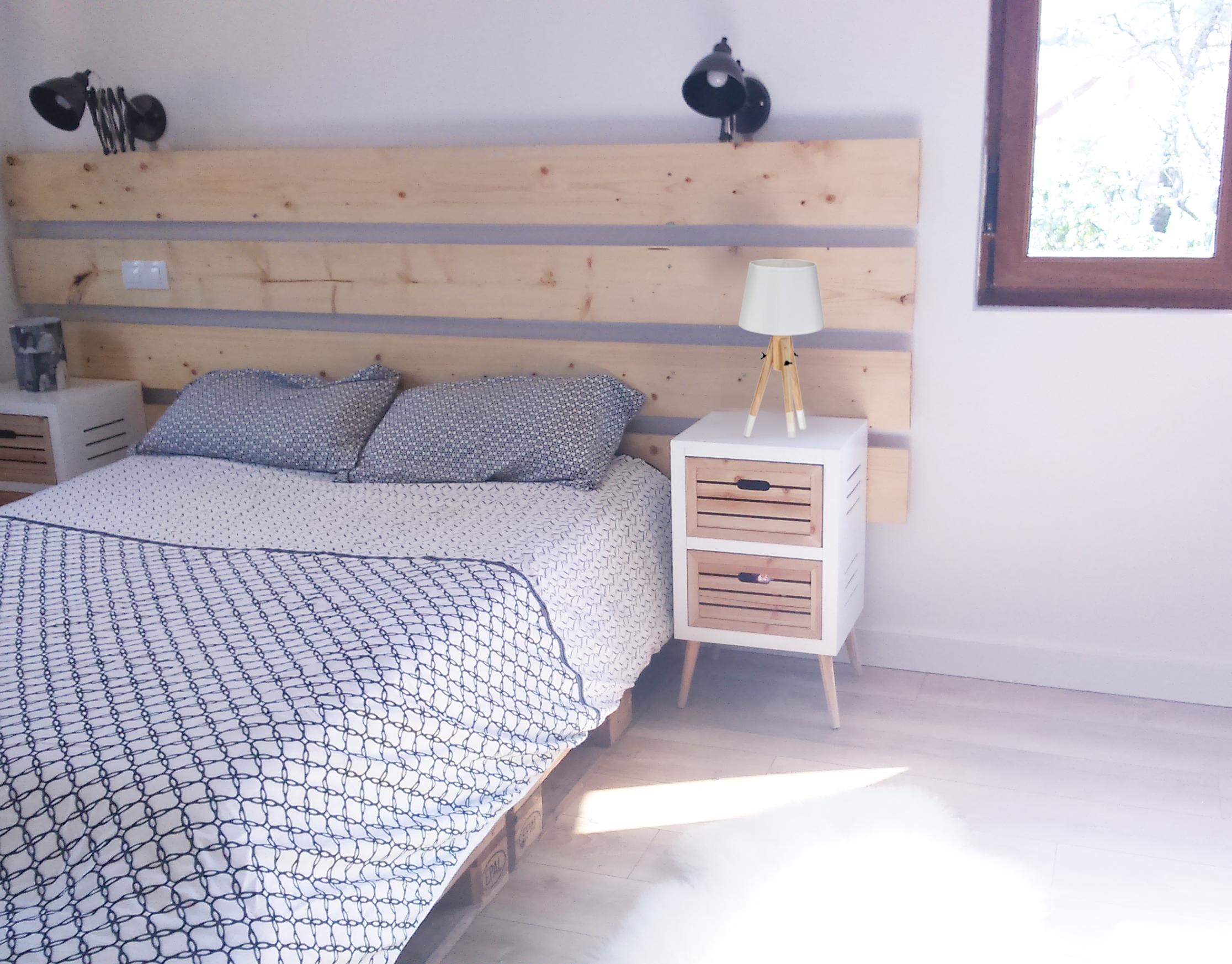 Dormitorio matrimonio estilo n rdico casika for Dormitorio matrimonio estilo nordico