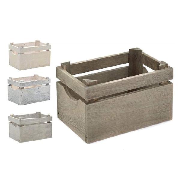 Caja madera rect 1 abertura casika - Cajas de almacenaje decorativas ...
