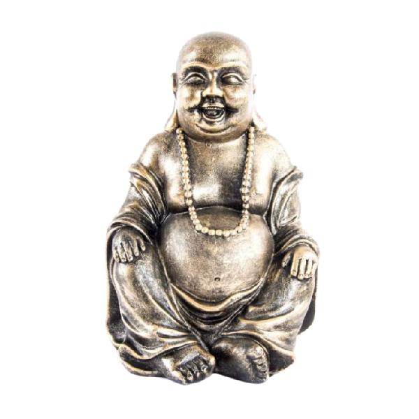 Figura buda resina cobre casika - Figuras buda decoracion ...