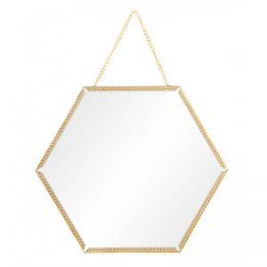 espejo-pared-hexagonal-metal-dorado-cadena