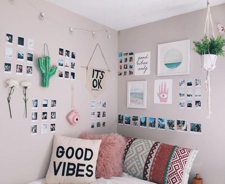 decoración de paredes estilo tumblr